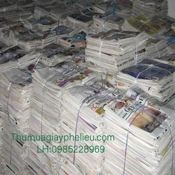 Mua bán giấy báo cũ tại TPHCM