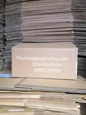 Bán thùng carton cũ giá rẻ tại TPHCM