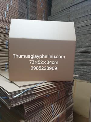 Thùng giấy carton cũ giá rẻ tại TPHCM