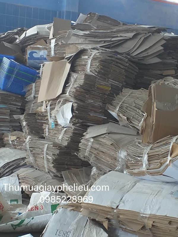 Thu mua giấy vụn giá cao tại TPHCM