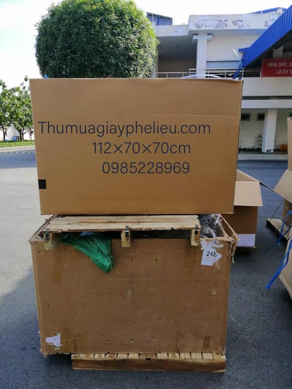 Bán thùng carton cũ 7 lớp